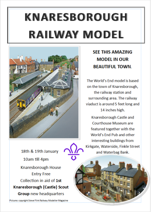 Knaresborough model railway exhibition